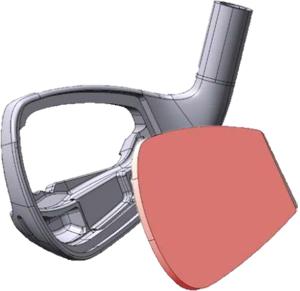 Thiết kế mặt gậy Honma Bezeal 535 Irons cải thiện lực đẩy