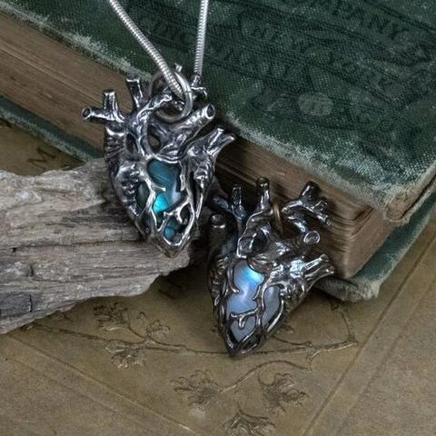 Heart of Stone Pendant - Aliame Blog