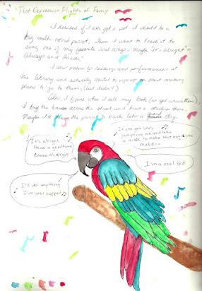 Easy Essay On My Pet Parrot