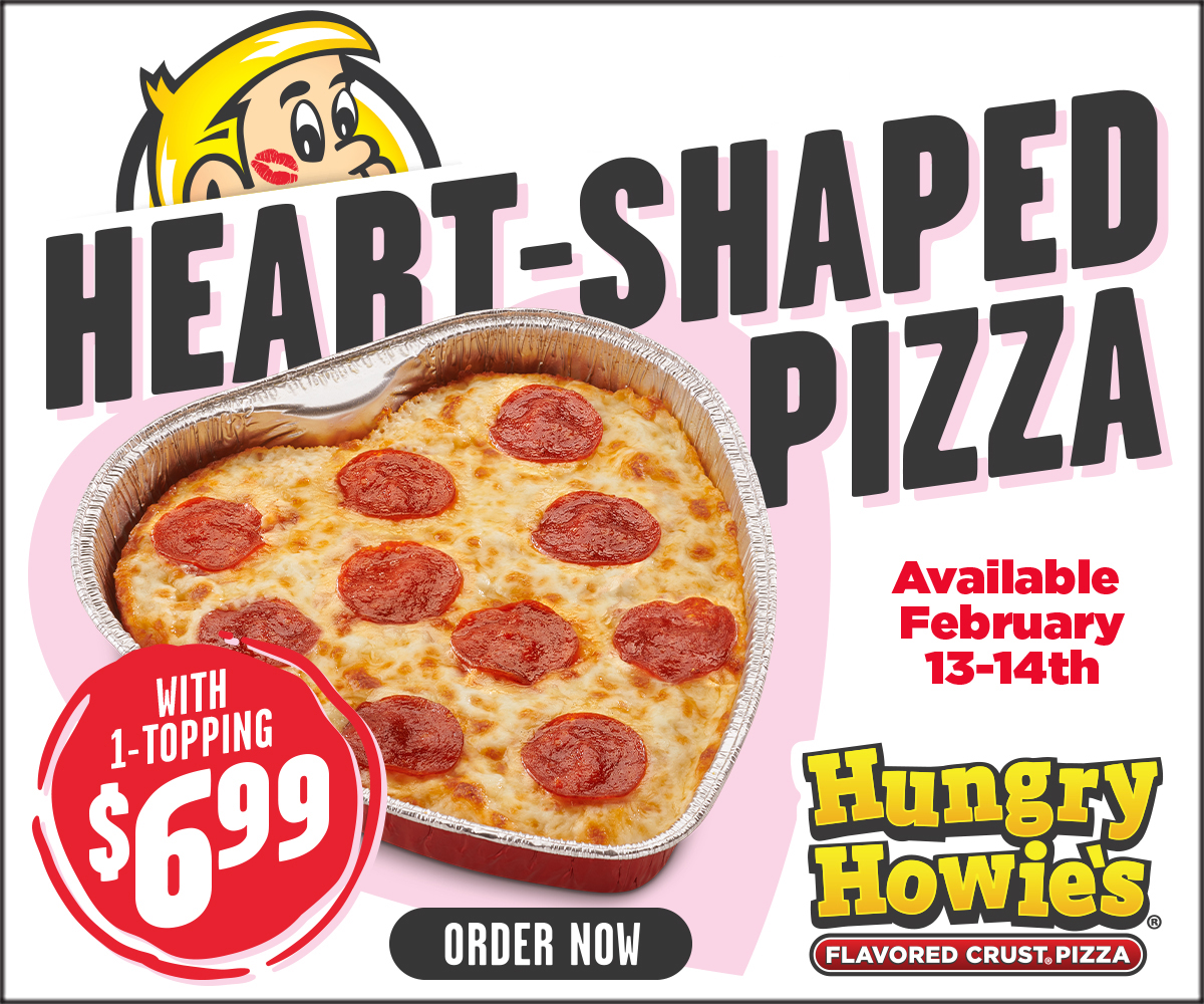promote valentine day themed food promotions