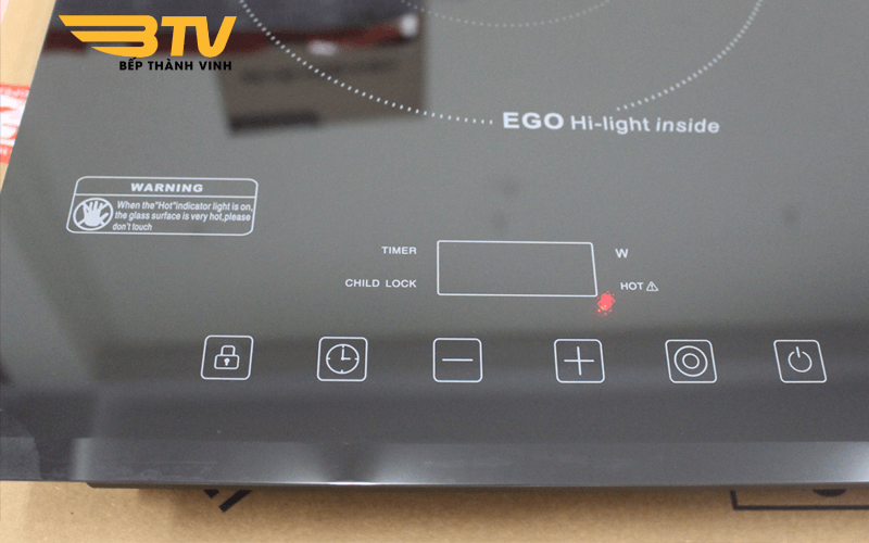 bảng điều khiển Bếp điện từ Chefs EH-MIX321