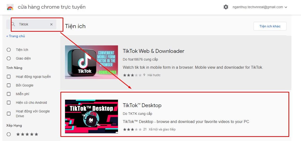 Hướng dẫn tải app Tiktok