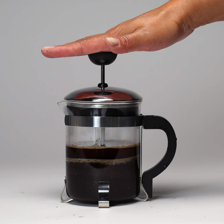 french press coffee saves money