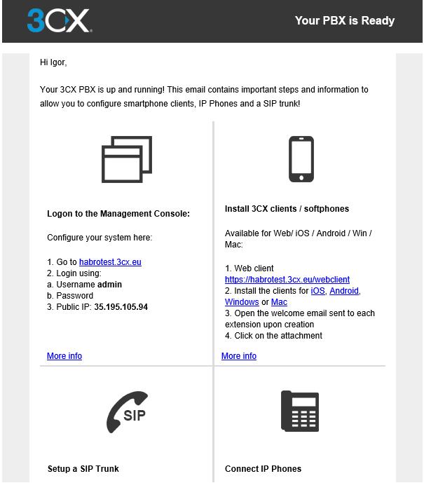 Создаем бесплатную облачную АТС в облаке Google