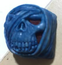 Artkey - Blue & Red Mumkey