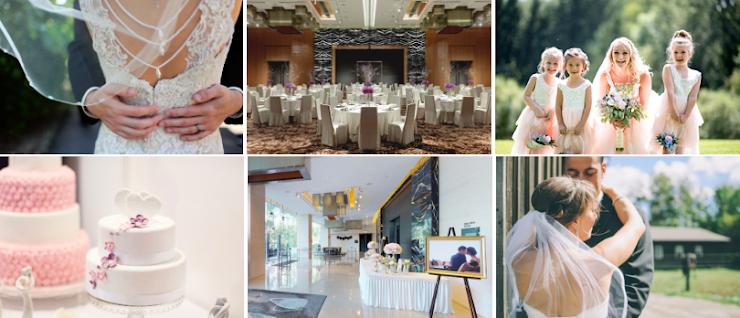 無柱的宴會大禮堂佔地430平方米,樓高6.2米、可容納30圍,另備LED屏幕作婚宴背景。前廳採用玻璃幕牆設計,寬闊開揚。