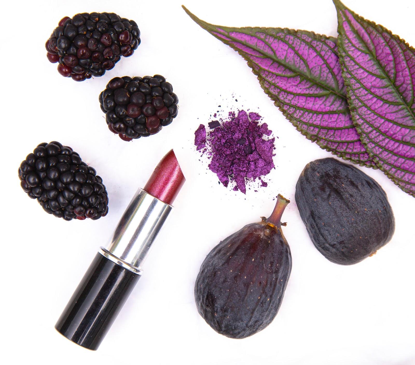 Frutas y maquillaje