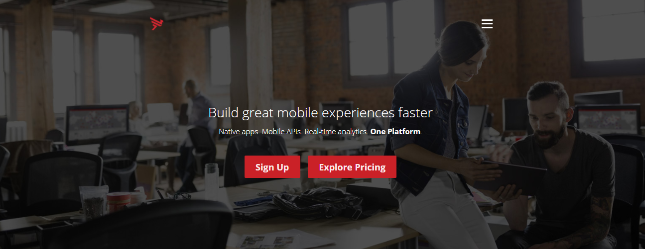 mobile application development tool