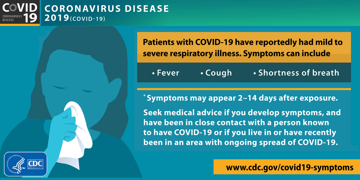 Coronavirus causes and symptoms