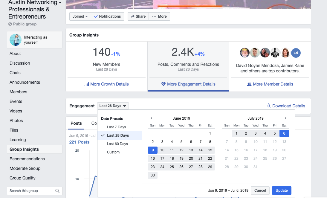 Facebook Groups Trends For Business - 10 Most Popular Features 2019
