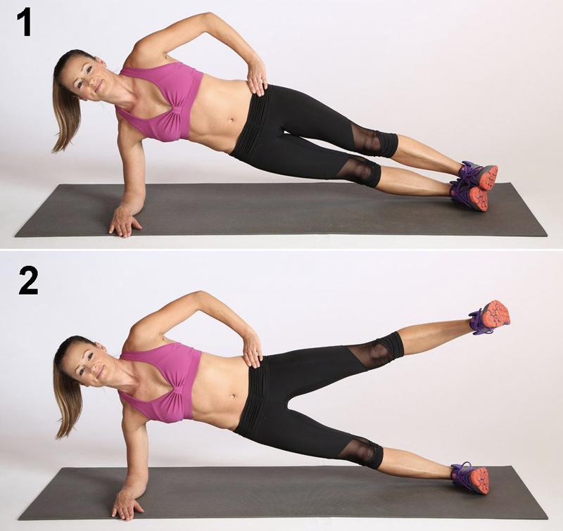 tập plank đúng cách