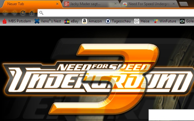 need for speed underground 3 aero chrome web store. Black Bedroom Furniture Sets. Home Design Ideas