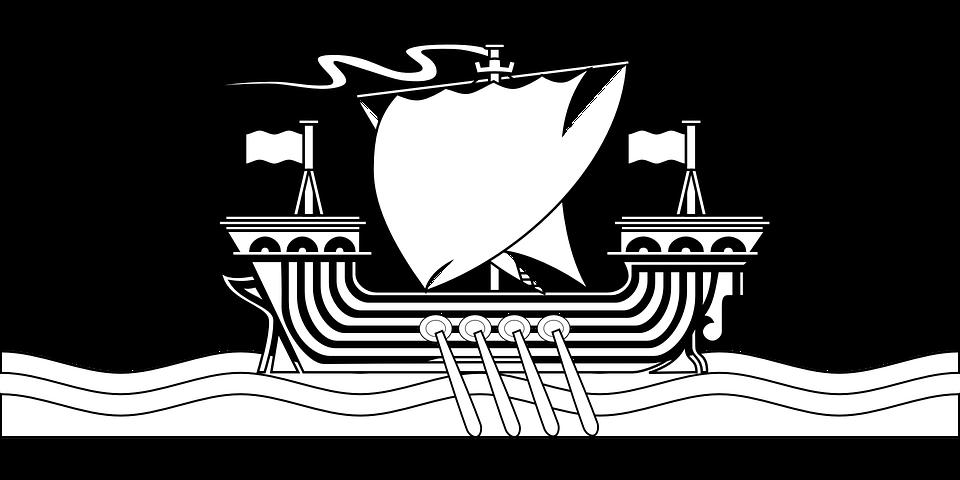 Vikings, Ship, Sailing Ship, ...