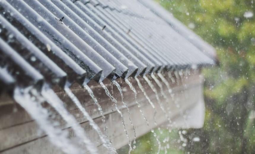 Mái nhà phải có khả năng thoát nước để bảo vệ công trình