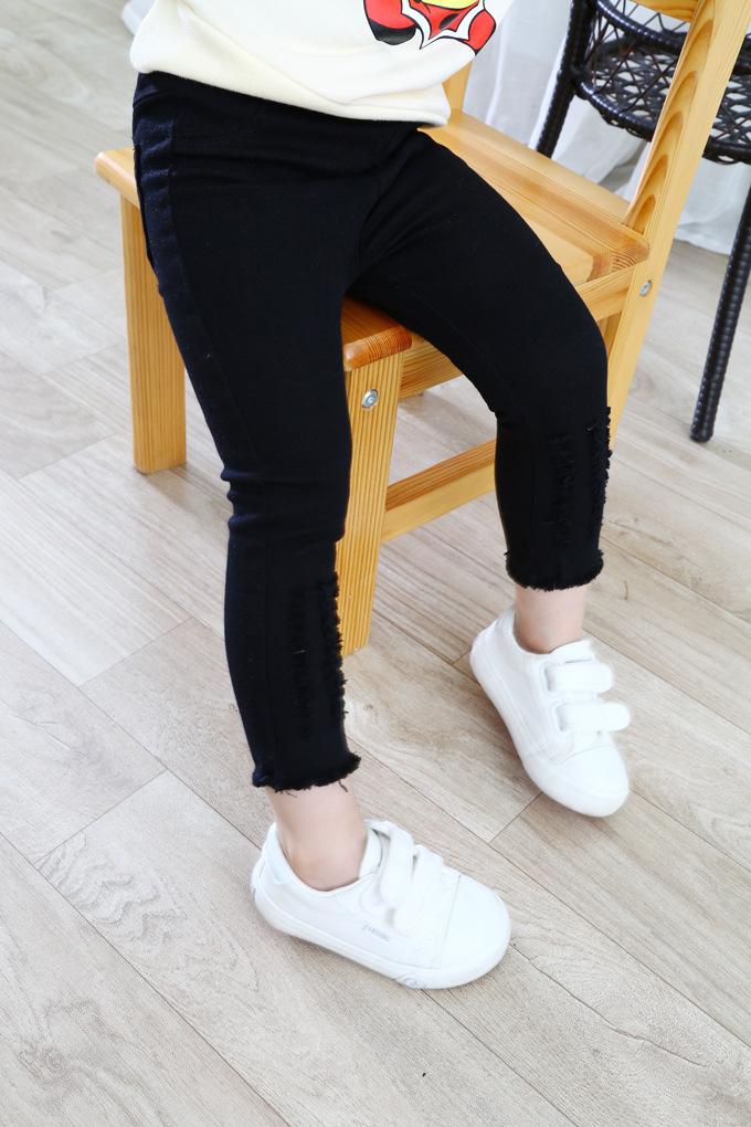 Czarne spodnie dla dziewczynki
