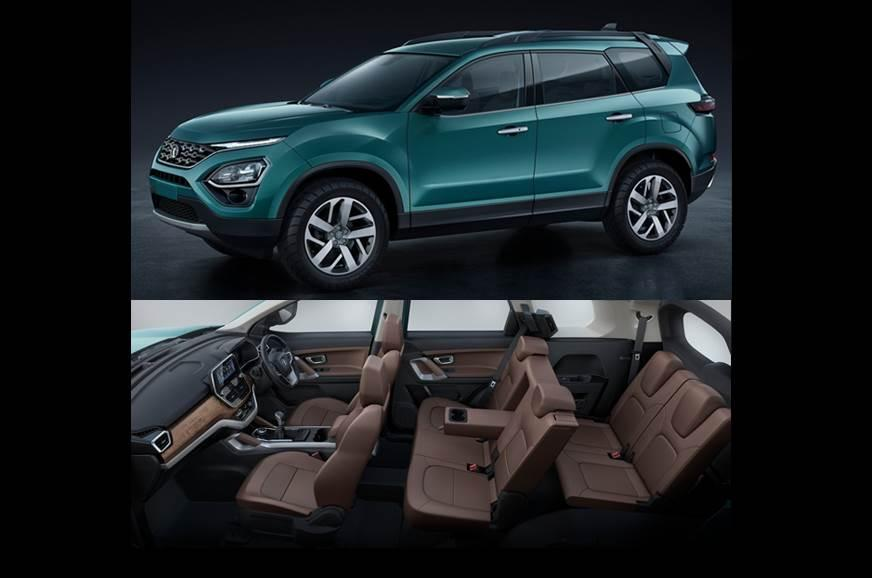 Image result for tata harrier 7 seater