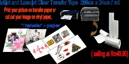 Bright image intended for laserjet printable vinyl