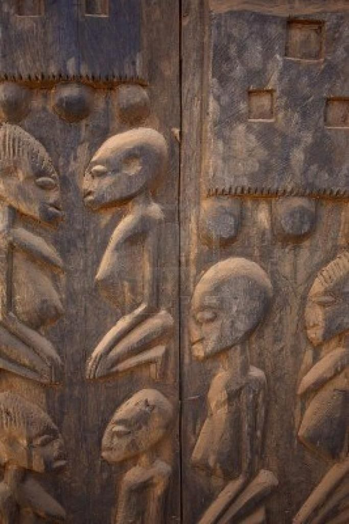 aliens on earth - the dogon tribe