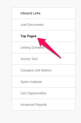 Opensite explorer Các trang hàng đầu