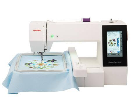 best embroidery machines in Canada: Janome Memory Craft 500E Embroidery Only Machine