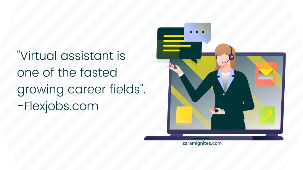become a part-time or full-time virtual assistant