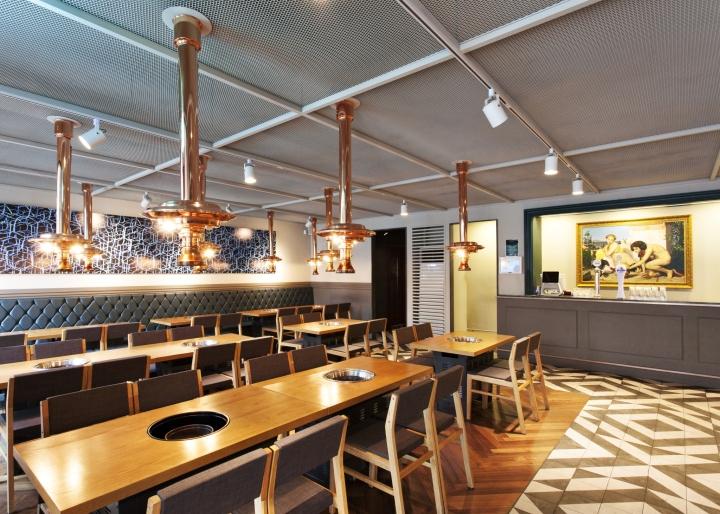 Thiết kế nhà hàng lẩu nướng