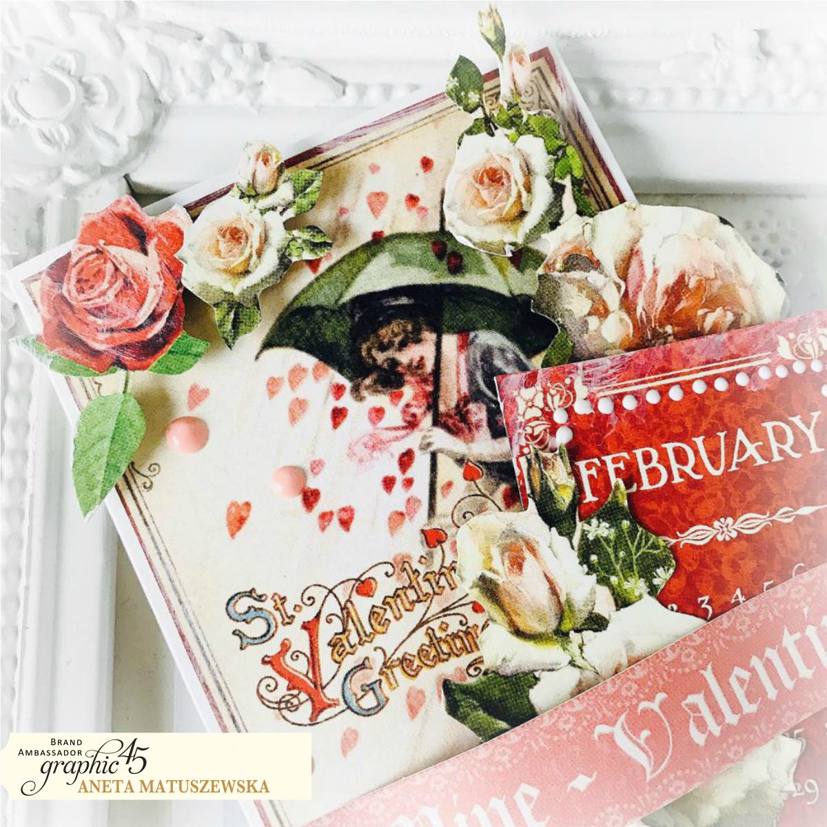 4 Steps to Vintage Valentines Cards