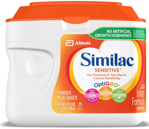 Similac Sensitive Infant Formula Powder with Iron