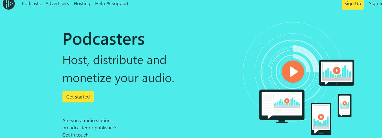 Audioboom podcast host, 9th best in 10webtools list