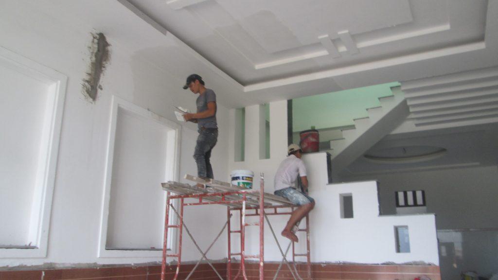 quy trình sửa chữa nhà của chung tôi