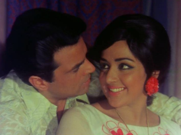4. Dharmendra and Hema Malini