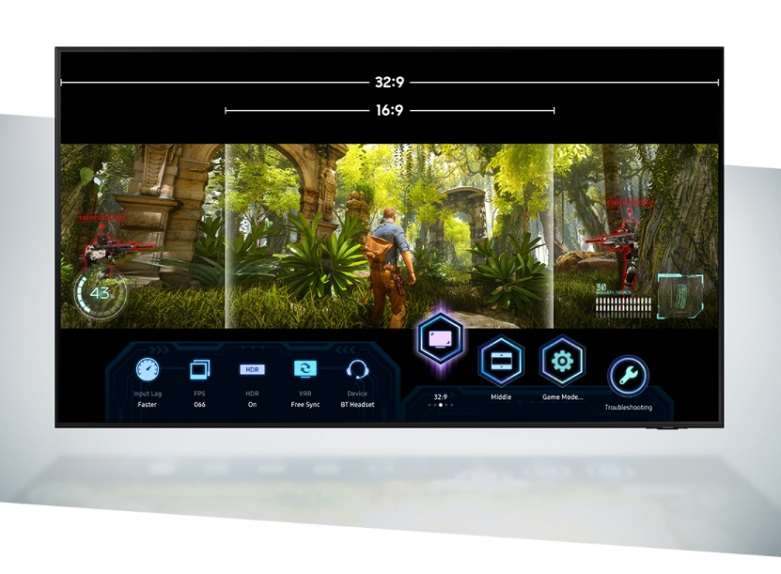 Smart Tivi Samsung 4K UHD 43 inch UA43AU9000KXXV   Mang lại màn hình trải nghiệm mượt mà