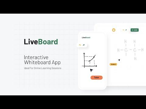 LiveBoard Interactive Whiteboard App Quick Tour
