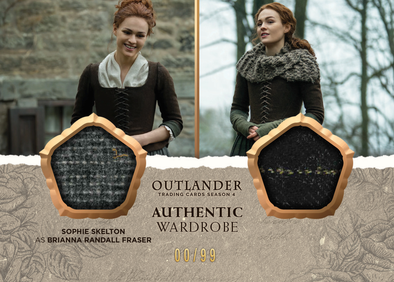 Outlander Trading Cards Season 4: Convention Wardrobe Card CE5 (Cryptozoic Con II Exclusive)