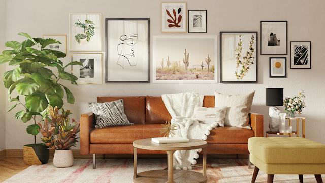 Contemporary Interior design room