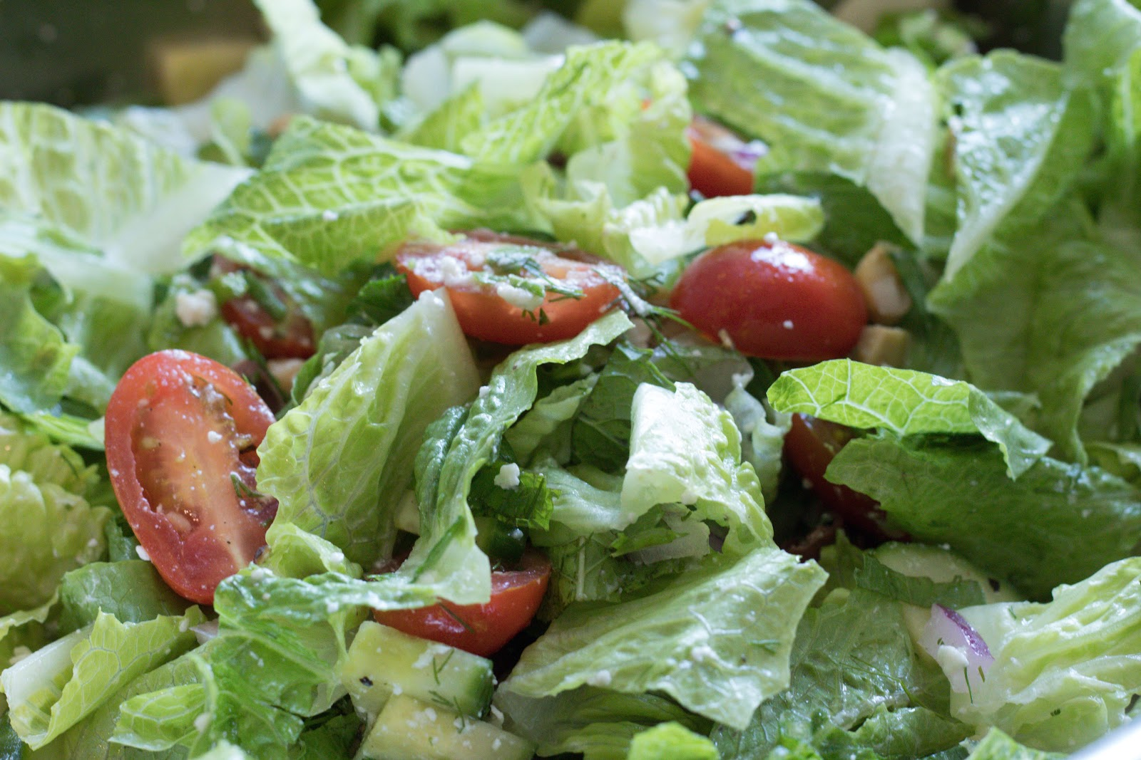 Greek Salad Patience & Pearls