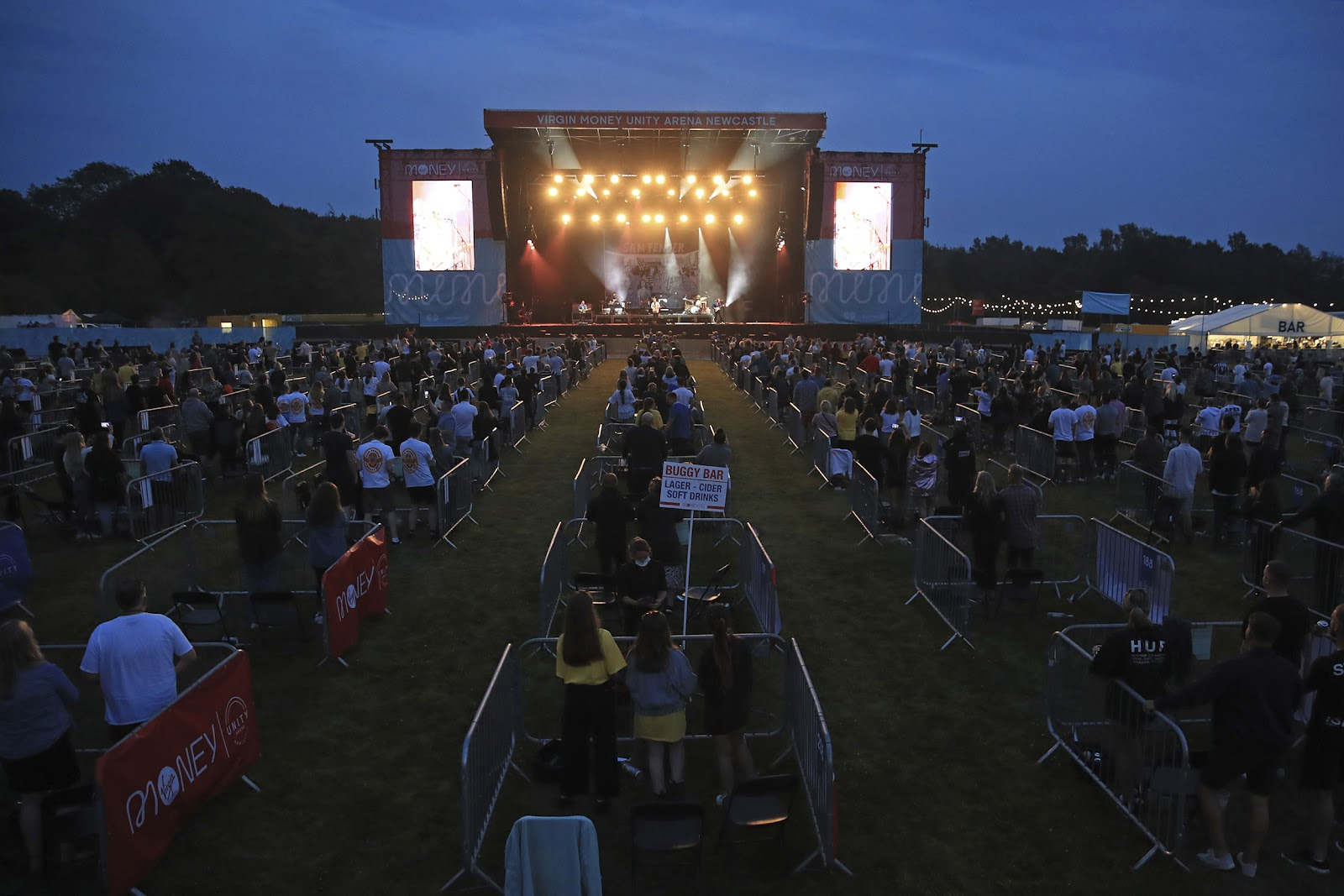 UK social distancing concert offers glimpse at future of events