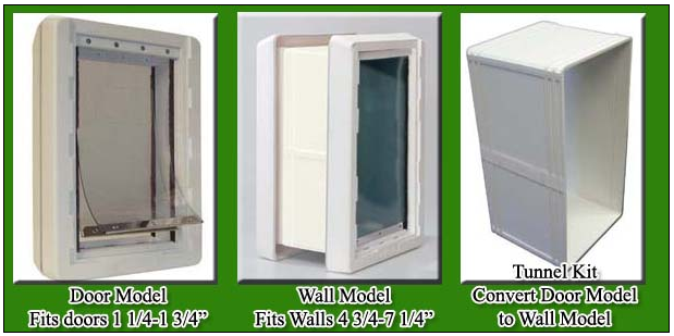 pet doors for walls