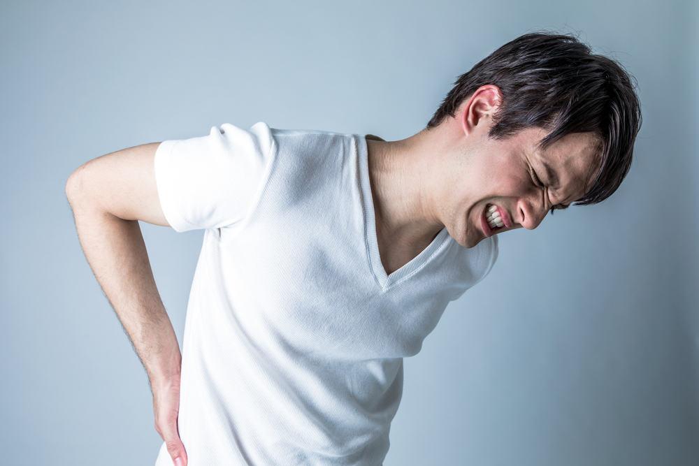 Những người bị đau lưng
