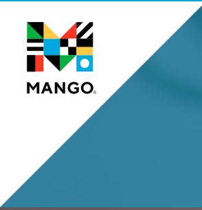 Mango language learning software logo.