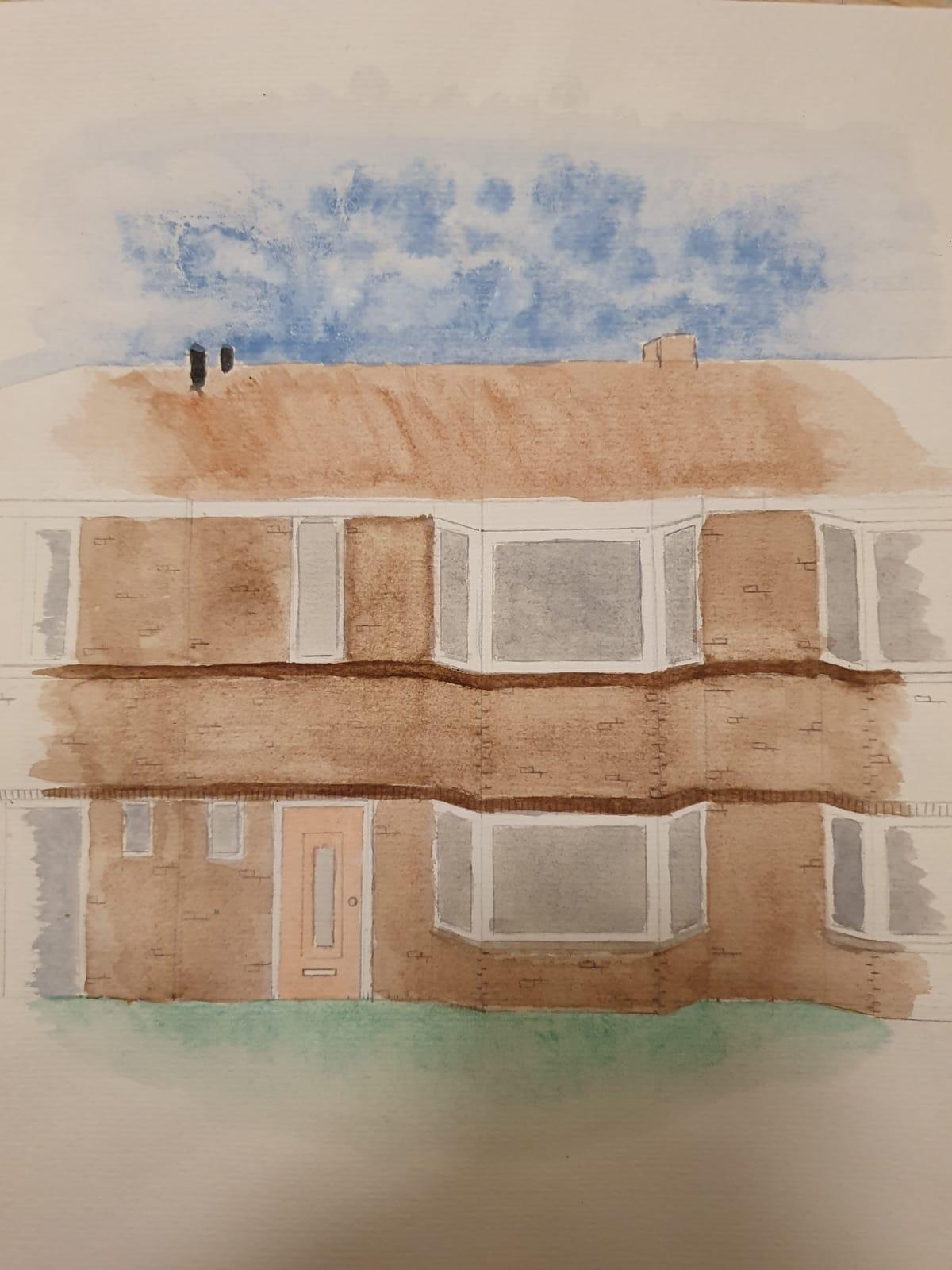Mijn geschilderde huis