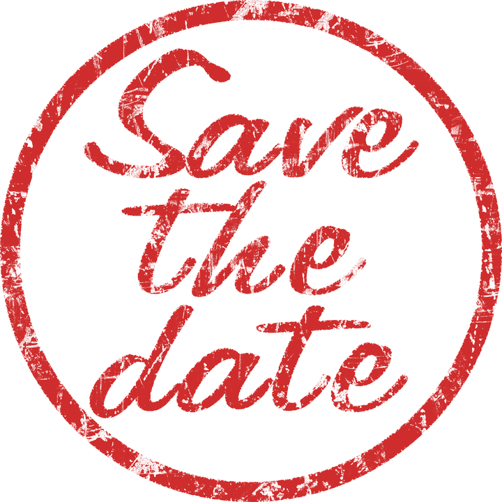Stamp Save The Date Red · Free image on Pixabay