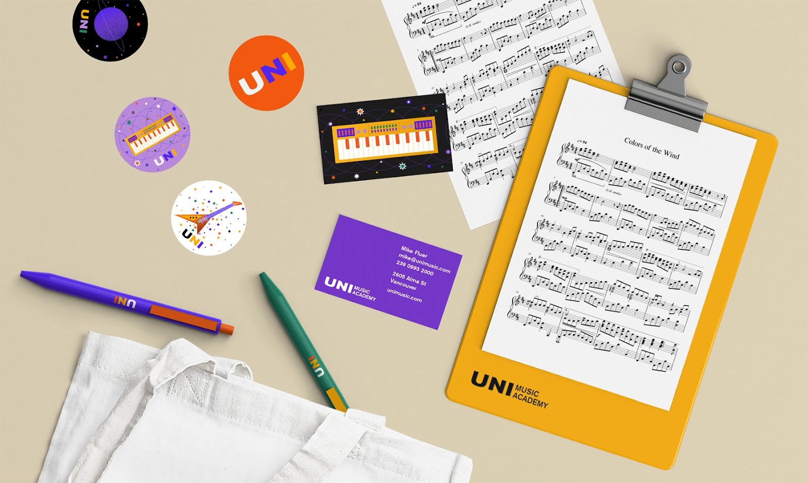 uni-music-school-stationary