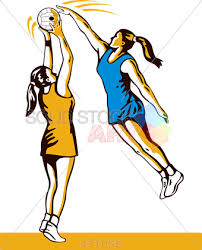 Image result for netball cartoon images