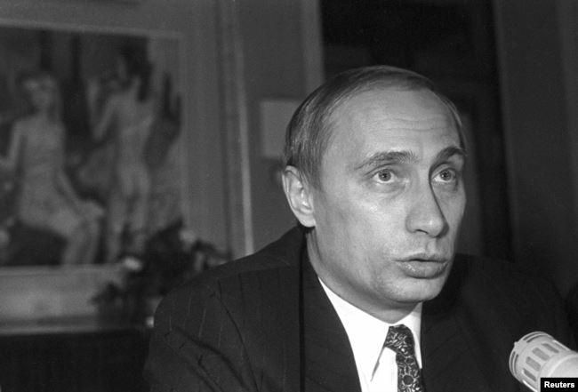 1995 год, первая пресс-конференция Владимира Путина на посту первого заместителя мэра Санкт-Петербурга