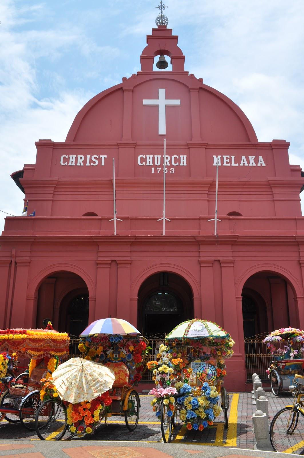 malacca-christ-church-facade-malaysia