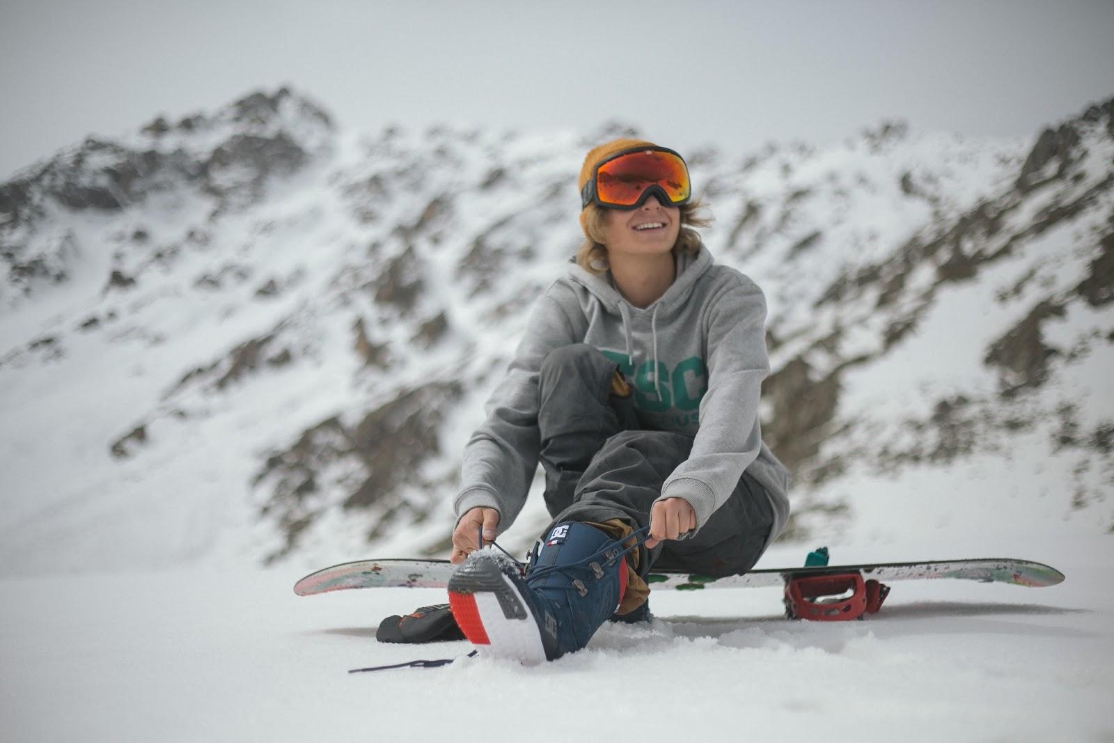 Man Snowboard - Quiksilver