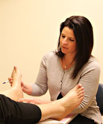 Foot Specialist Dr. Jennifer Phillips