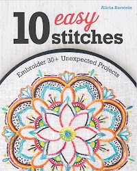 Embroider 30+ Unexpected Projects  By Alicia Burstein
