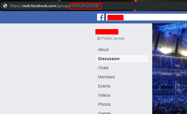 Email Extraction from Facebook Grop